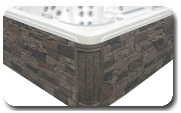 Maintenance Free Rock Cabinetry - Spas